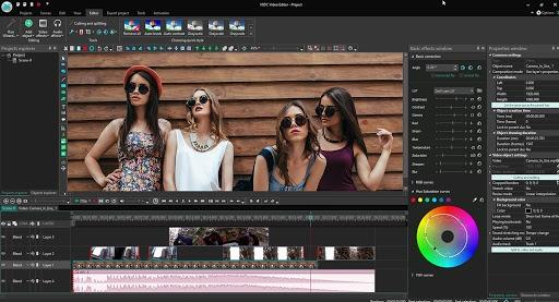 VSDC (Free video editor)